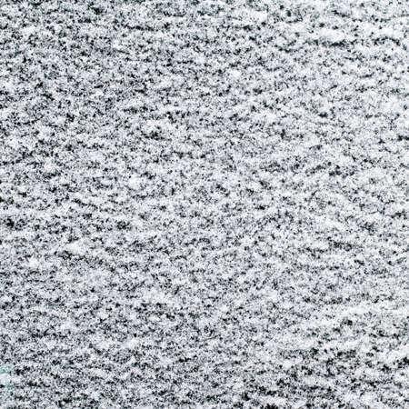 powdery: Close up shot of powdery snow texture