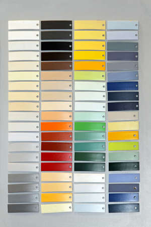 Palette picker of tiles material in vivid colors Stock Photo - 16246926