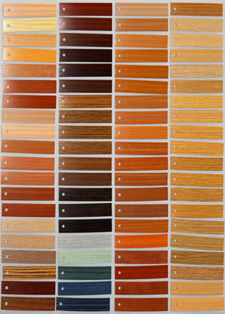 Various different wood tiles material palette picker Stock Photo - 16246922