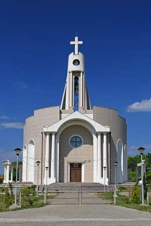 albanian: New Albanian Catholic Church in Donji Stroj