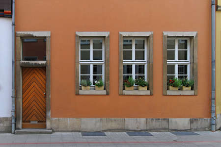 Traditional simple house in old city Hannover Stock Photo - 16584733