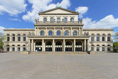 Classical State Opera House in Hanover Germany Stock Photo