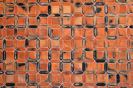 Terracotta tiles in shape of digital numbers Stock Photo - 16617401