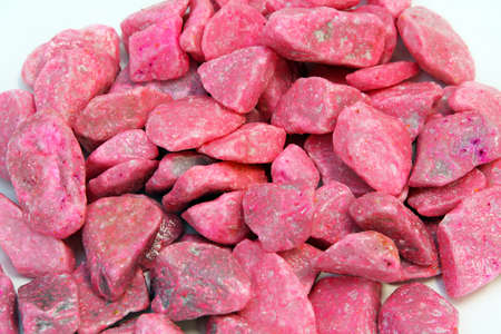 Big bunch of decorative pink rocks Stock Photo - 16686506