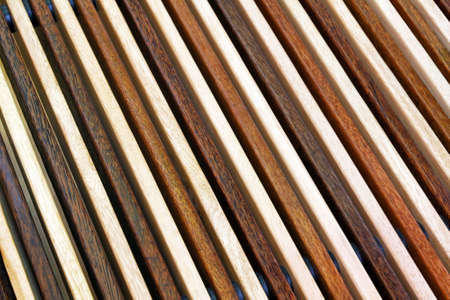 Two tone diagonal wood lines background Stock Photo - 16686639