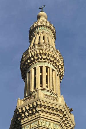 Minaret of El Nasir Mosque at Citadel in Cairo Stock Photo - 16875770
