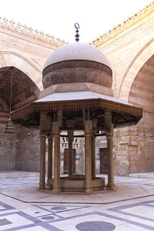 Ablutions fountain in courtyard of Mosque in Cairo Stock Photo - 16964049