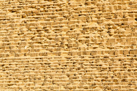 Great pyramid of Giza wall at sunny day  Stock Photo - 17094491