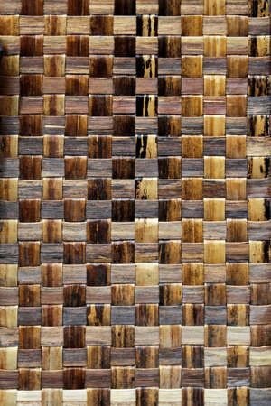 Detailed texture of old beige rattan background Stock Photo - 17231571
