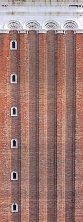 Famous landmark red brick tower in Venice Stock Photo - 17338724