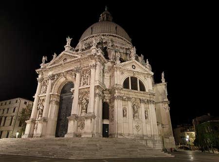 Basilica di Santa Maria della Salute in Venice Stock Photo - 17338712
