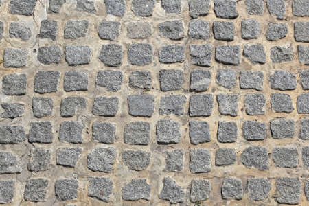 Old style cobble stones pavement background texture Stock Photo - 17690583