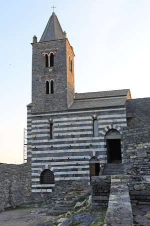 Saint Peter church in Porto Venere Italy Stock Photo - 18295291