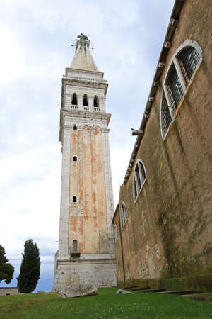 Saint Euphemia basilica tower in Rovinj Croatia Stock Photo - 18397859