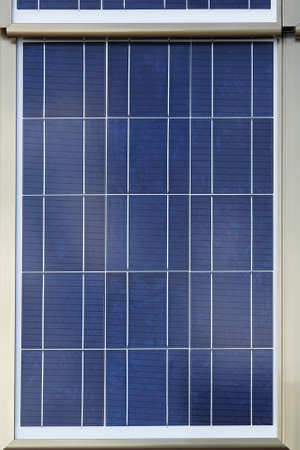 Close up shot of photovoltaic solar panel Stock Photo - 18874040