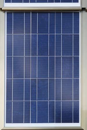 Close up shot of photovoltaic solar panel Stock Photo - 18874040