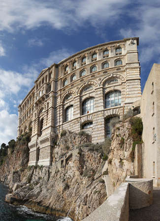 Oceanographic Institute and museum of marine sciences in Monaco Stock Photo - 19133231
