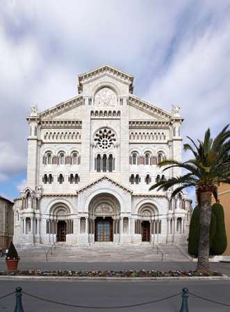 Saint Nicholas Cathedral famous tourist attraction in Monaco Stock Photo - 19139428