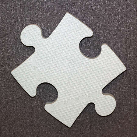 One puzzle piece for problem solving concept Stock Photo - 19187788