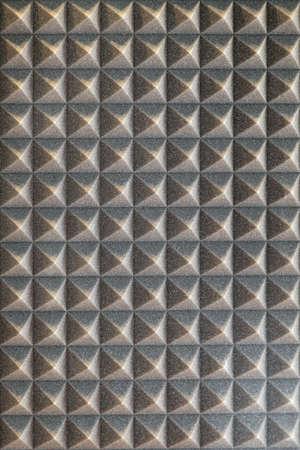 Sound absorbing sponge isolation in music studio Stock Photo - 19187792