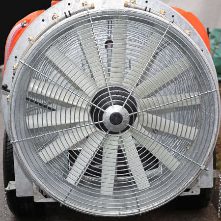 axial: Big axial fan for industrial use