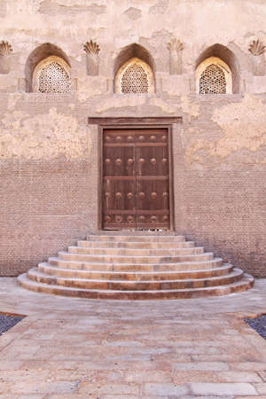 Entrance to courtyard of Ibn Tulun Mosque in Cairo Stock Photo - 20239109