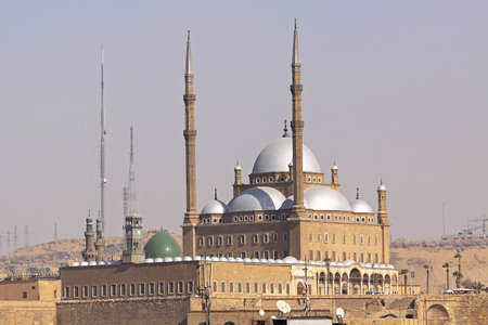 mohammed: Mohammed Ali Alabaster mosque at Citadel in Cairo