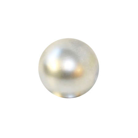 Big luxury pearl isolated at white