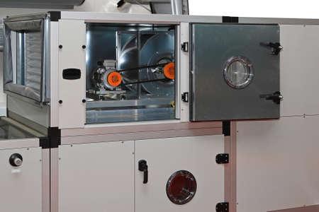 unités de traitement d'air dans le système de ventilation centrale Banque d'images