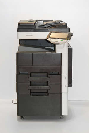 Photocopier copy machine in office 版權商用圖片
