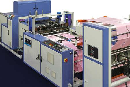 롤에서 비닐 봉지 생산 용 기계