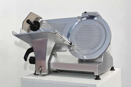 Semi Automatic meat and ham slicer machine