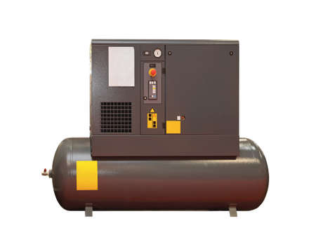Air compressor Isolated