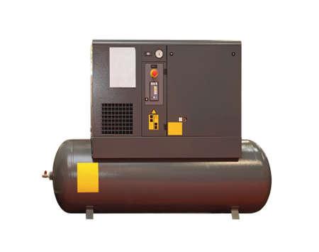 Luftkompressor Isolated Standard-Bild - 41666785