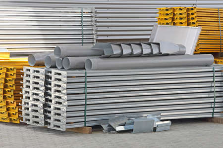 Construction Material For Shelving System in Distribution Warehouse