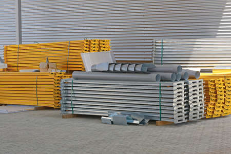 Construction Material For Shelves and Racks in Distribution Warehouse