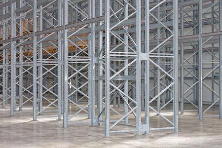 Neues Regalsystem in Distrtellion Warehouse