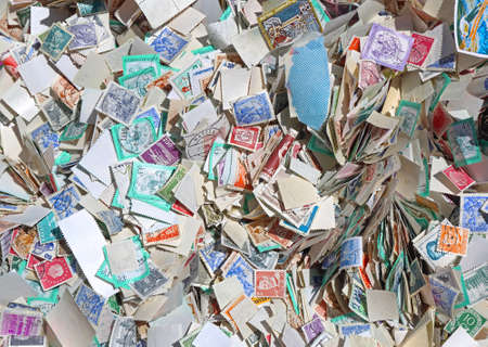 Big Bunch of Used Unsorted Postage Stamps