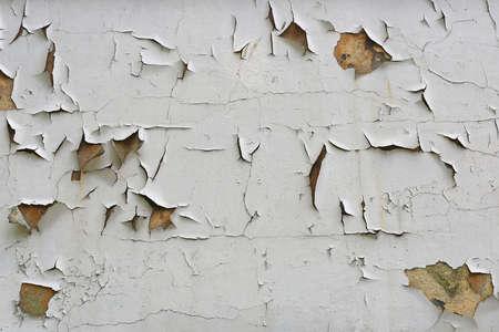 家の壁を剥離欠け塗料