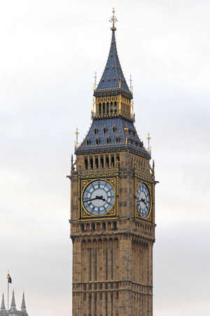 Big Ben Clock Tower Famous London Landmark
