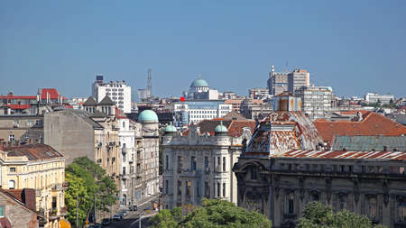 Downtown Belgrade Capital City of Serbia
