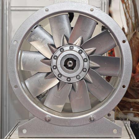 刃ピッチが付いている産業軸ファンの送風機 写真素材