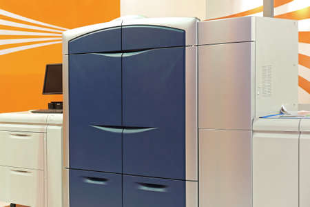 Big Photocopier Copy Machine in Office