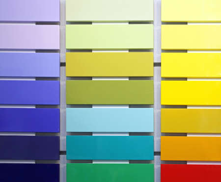 Color Swatch Wood Paint Material Sampler
