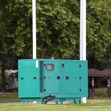 Green Diesel Generator for Emergency Electric Power