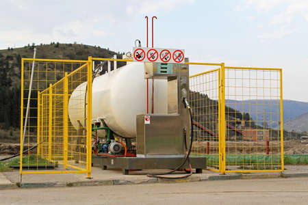 LPG Gas Filling Station for Cars