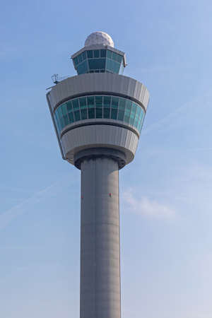 Airport Tower Column Structure at Schiphol Amsterdam