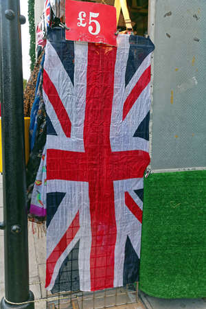 Five Pounds Price for Union Jack British Flag
