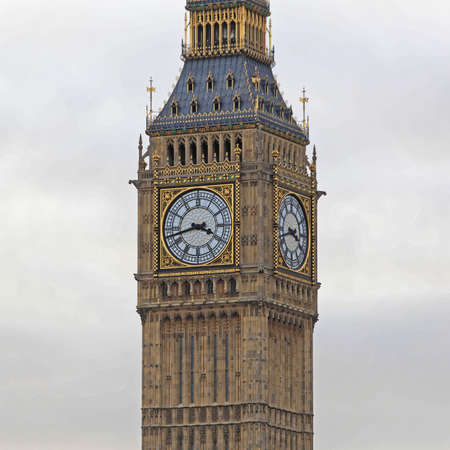Big Ben Clock Tower Famous London Landmark
