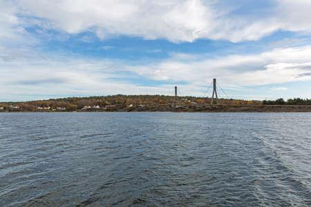 Hvalerporten Road Bridge to Hvaler Island in Norway
